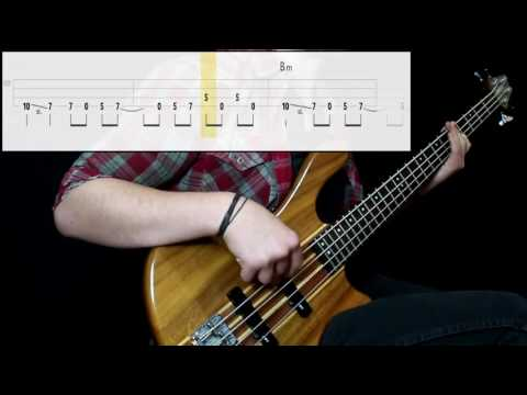 Radiohead - Jigsaw Falling Into Place (Bass Cover) (Play Along Tabs In Video)