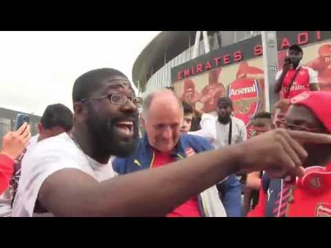 @GoonerClaude GOES MAD! - Neeks Sports vs Arsenal Fans - Arsenal 0 - 2 West Ham |