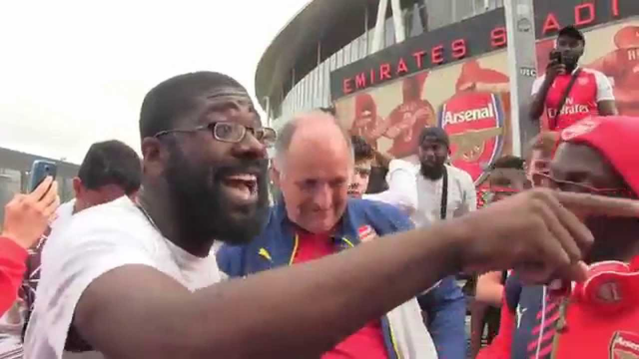 Image result for Angry arsenal fans