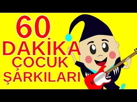 Çocuk Şarkıları 2016   Bebek Şarkıları   60 Dakika Kesintisiz Çizgi Film Çocuk Şarkıları