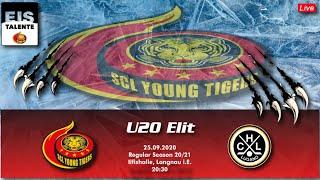 MS 20/21 - U20 Elit - Regular Season - SCL Young Tigers vs HC Lugano