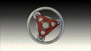 Planetary gear animation