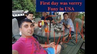 Amerikada ilk günüm, My first day in the USA. Greencard haqqinda 09.06.2017 V.7