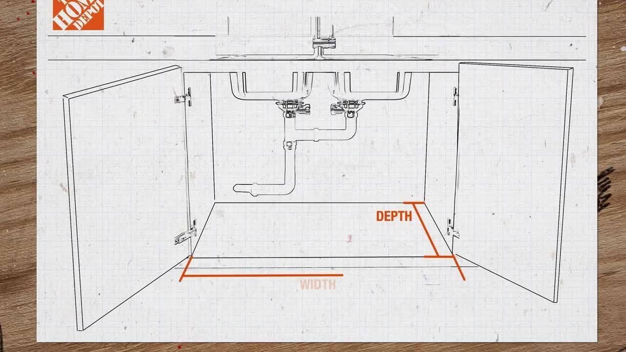 how to measure a kitchen sink the