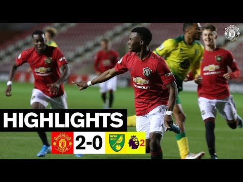 U23 Highlights | Manchester United 2-0 Norwich | The Academy