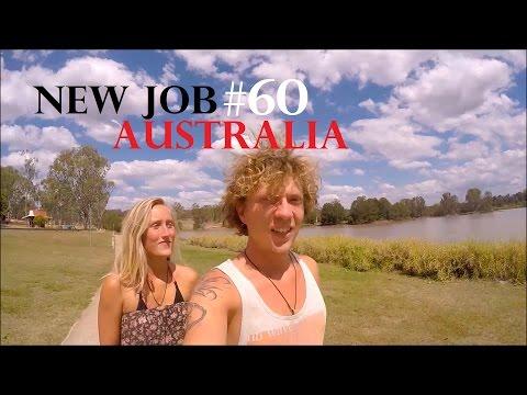 EASY FARM JOB IN AUSTRALIA  🚜 WORK AND TRAVEL AUSTRALIA✔Vlog#60 Farm work Gatton - Weltreise