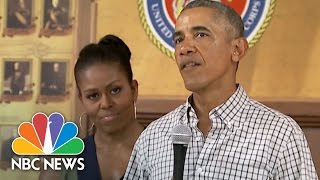 President Barack Obama To Troops: Honored To Have Been Your Commander-In-Chief   NBC News