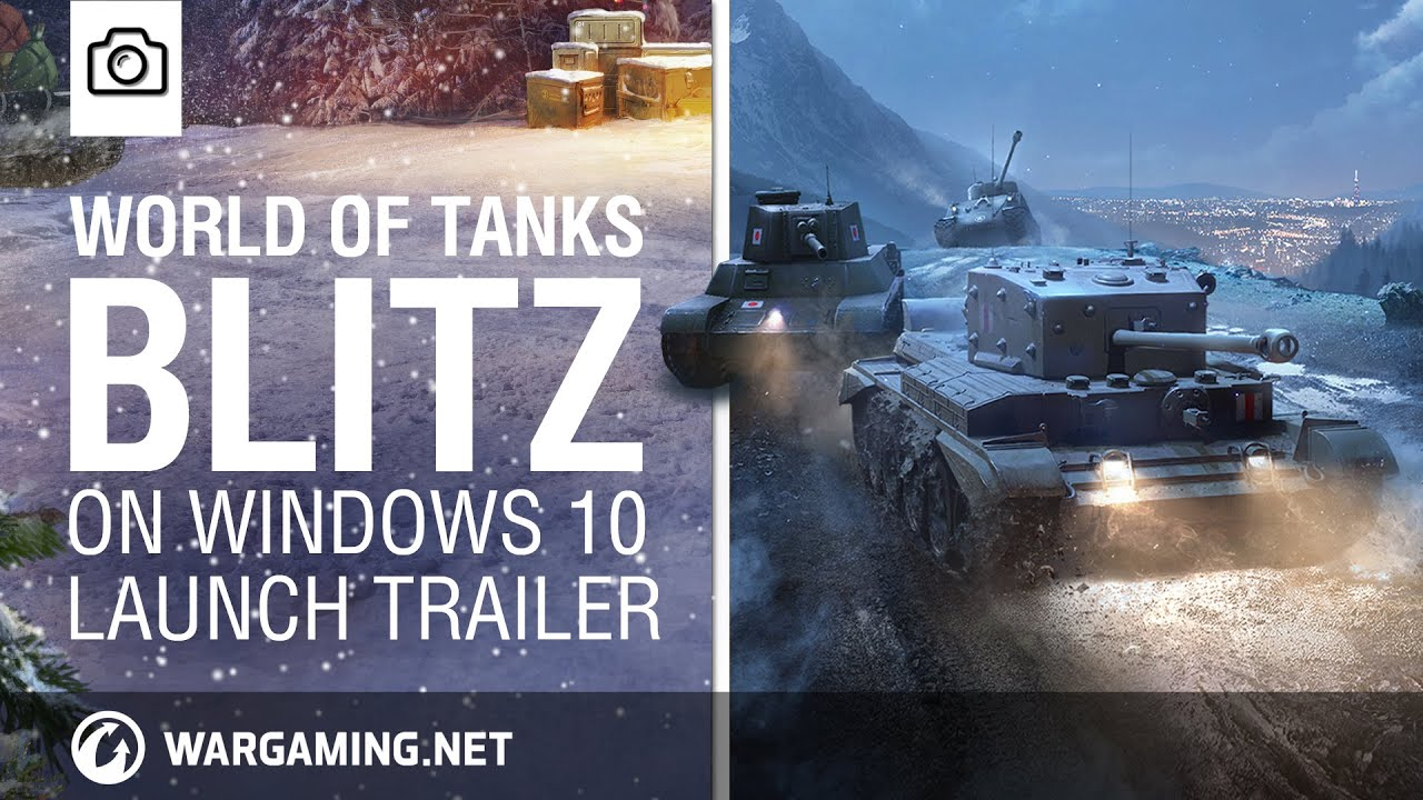 World of Tanks Blitz - an explosive MMO game for Windows 10