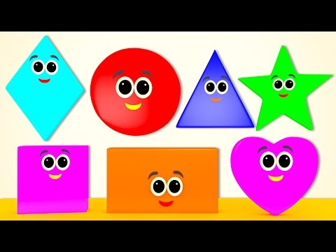 Shapes Song | Learn Shapes | Nursery Rhymes From Pre School