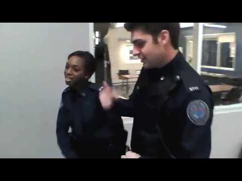 Travis Brings the Freestyle  Behind the s on Rookie Blue