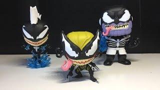 Funko POP! Venomized Thanos, Storm, & X-23 Review