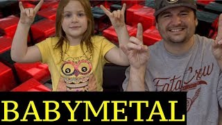DAD AND DAUGHTERS REACTIONS TO BABYMETAL = AKATSUKI = LIVE SO ONCE ...