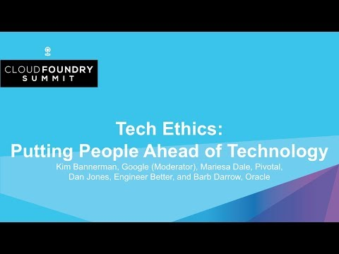 Tech Ethics: Putting People Ahead of Technology