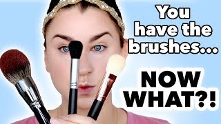 HOW TO USE A MAKEUP BRUSH SET- FACE | Beauty Banter