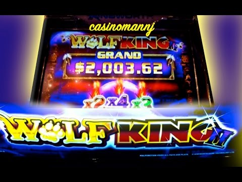 NEW SLOT! - Wolf King II - First \u0026quot;LIVE\u0026quot; Look - Slot ...