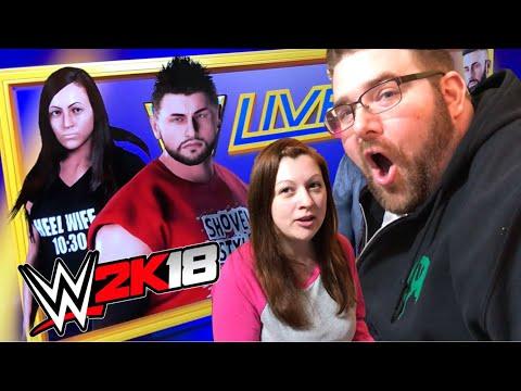 A REAL LIFE STALKER? BEST GTS WWE 2K18 Create A Wrestlers!