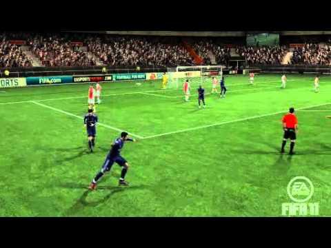 FIFA 11   CR7 Free Kick Ball Curve