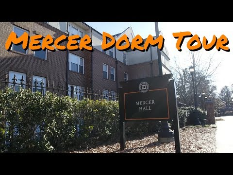 Mercer Hall Dorm Tour