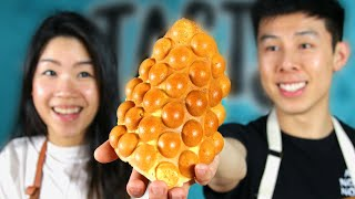We Made Hong Kong's Famous Egg Bubble Waffle Tasty