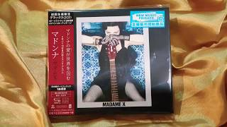 "Baixar Unboxing 💿 Madonna ""Madame X (Deluxe) [SHM-CD] [Limited Edition] 🇯🇵 [Japan Bonus Track]"" 💿🎶"