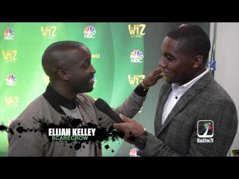 Elijah Kelley Full  with TV Host Kamaron Leach  NBC's The Wiz LIVE!