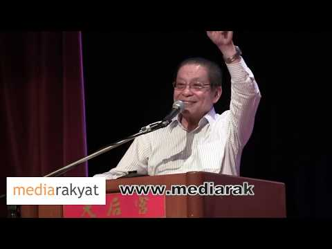 Lim Kit Siang: You Must Be The Agent For Change, You Must Spread The Word For Change