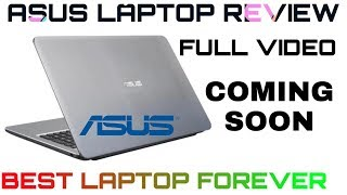 Asus X540UB Laptop Full Review Coming Soon