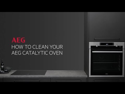How to clean your AEG catalytic oven