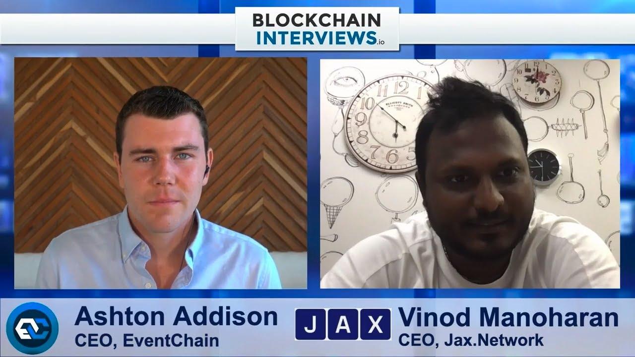 Download Vinod Manoharan, the CEO of Jax.Network | Blockchain Interviews