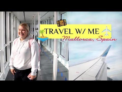 TRAVEL WITH ME: PACK & PREP ROUTINE // Mallorca, Spain thumbnail