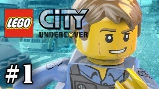 LEGO City Undercover - Part 1 -  Chase McCain (WII U Exclusive ) (HD Gameplay Walkthrough)