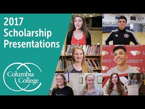 2017 Scholarship Presentations