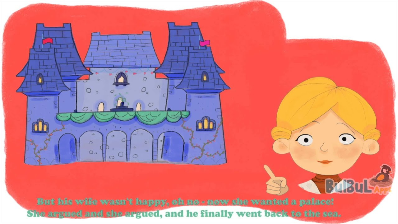 The Fisherman And His Wife | English Moral Story For Kids | Bulbul ...