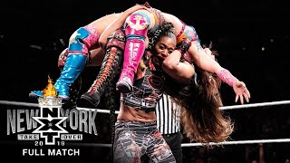FULL MATCH: Baszler vs. Belair vs. Shirai vs. Sane - NXT Women's Title Match: NXT TakeOver: New York