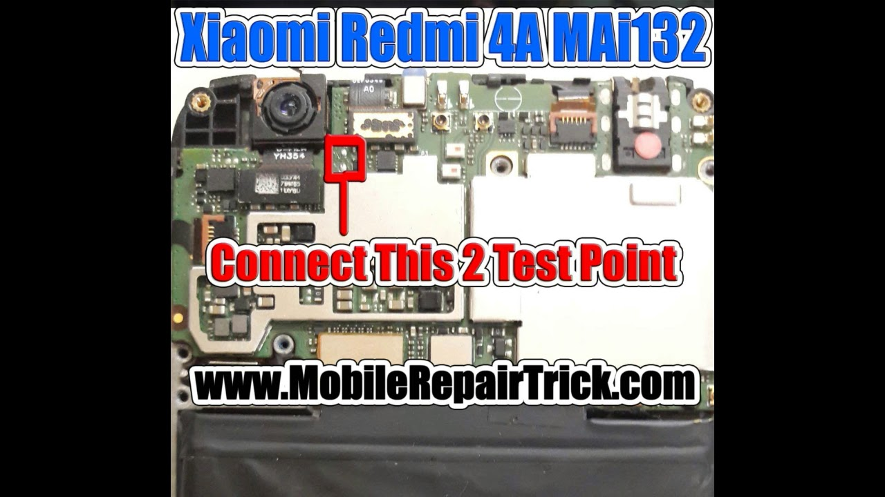 Xiaomi Redmi 4A MAi132 Edl Pinout | Edl Test Point - www
