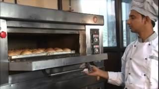 Single Deck Oven Orange Foodstuff Equipment