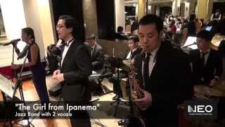 Live Music Entertainment Wedding Jazz Band Hong Kong - Neo Music Production