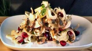 How To Cook Fennel And Grilled Sardines Salad