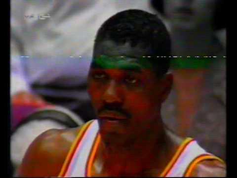 1994 NBA playoffs wcf game 5 Utah Jazz-Houston Rockets(second half)