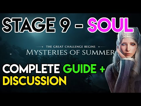 """Mysteries of Summer - Part 9 - Soul - *Not* Full Guide And """"Review"""""""