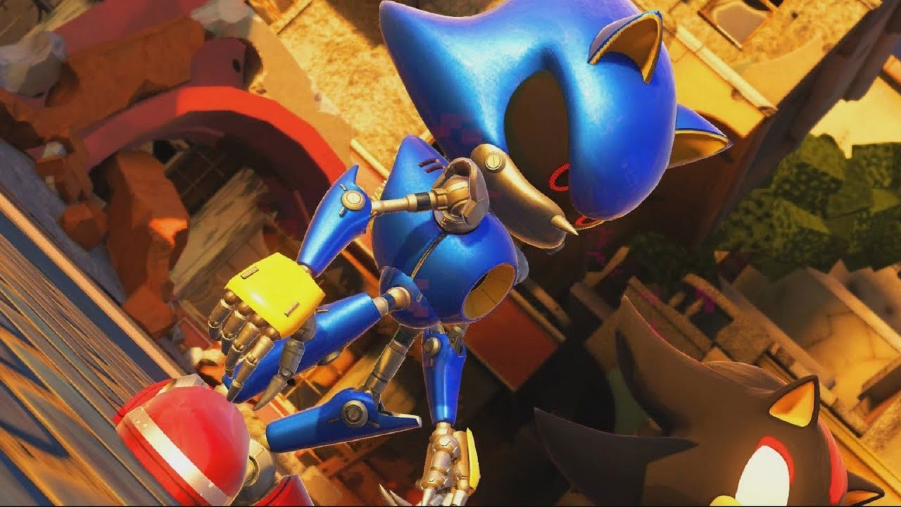 Sonic Forces: Metal Sonic Boss Fight #5 - YouTube