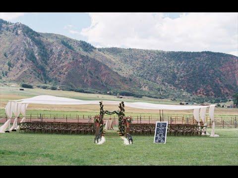 Cathy & John's Aspen Ranch Wedding