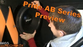 Pride Car Audio AB series Preview