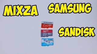 Обзор и Тест Карта Mixza 32GB 10 Class. Снимаем в 4К. Сравниваем с аналогами.