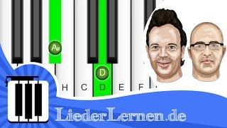 Scala & Kolacny Brothers - Hungriges Herz - Klavier lernen - Musiknoten - Akkorde
