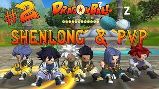 """DRAGON BALL ONLINE #2 """"INVOCANDO SHENLONG E INDO PVP"""""""