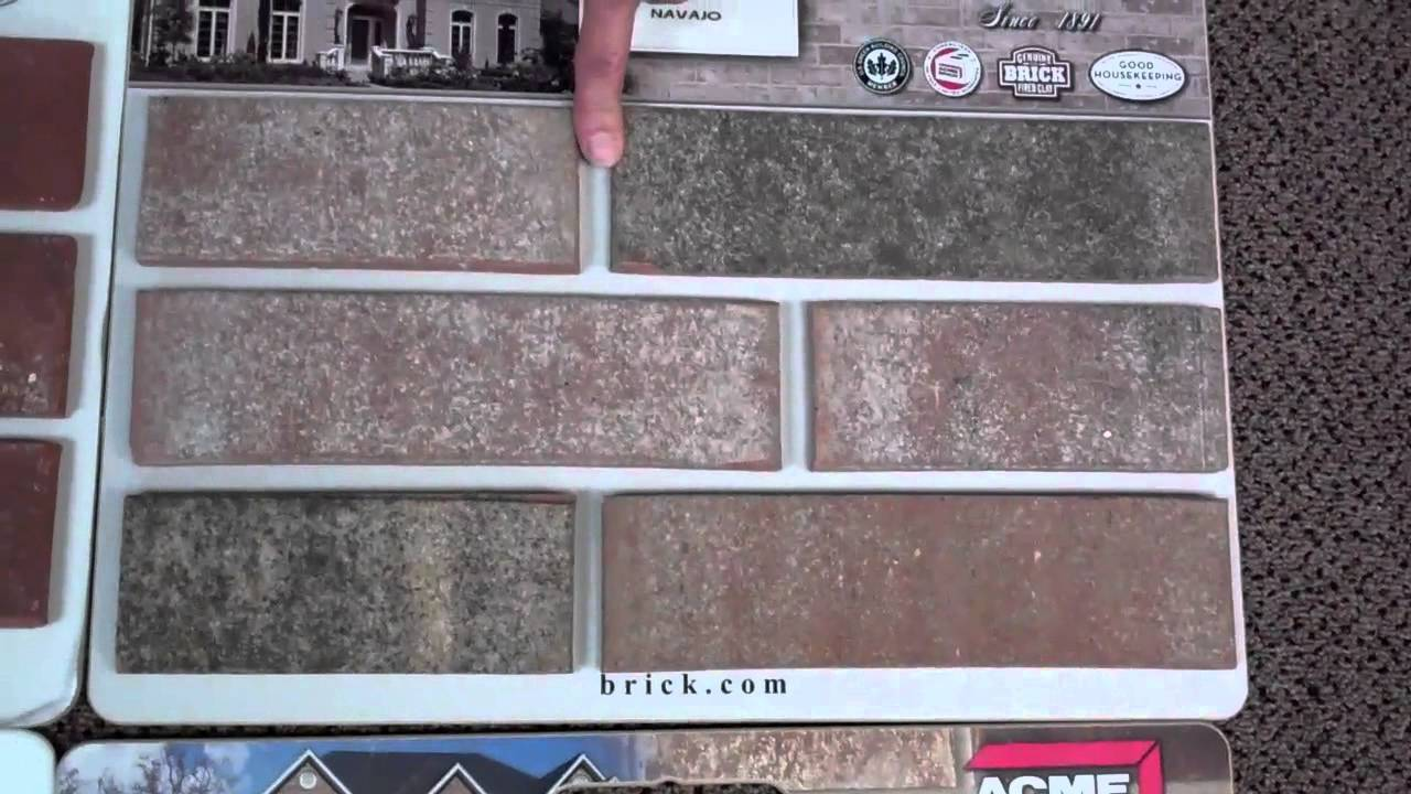 Brick, Stone, and Exterior Colors - YouTube