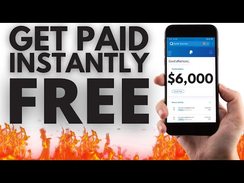 Earn FREE PayPal Money Instantly ($6,000+) | Make Money Online 2021