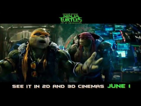 On JUNE 1, your favorite pizza-eating Turtles are  back #TMNT2