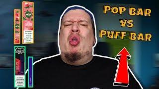 Pop Bar Disposable Vape Device vs Puff Bar Review